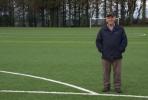 Минитрактор решил проблему дренажа на полях футбольного клуба Newton Stewart
