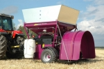 фото Машина для плющения зерна Murska 2000S2x2 СВ с упаковочным выходом